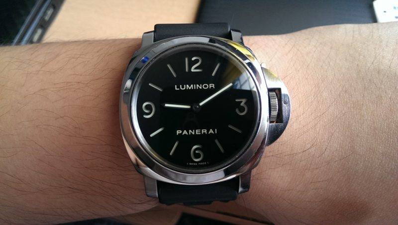 swissluxury style contemporary luminor htm days from watches panerai no