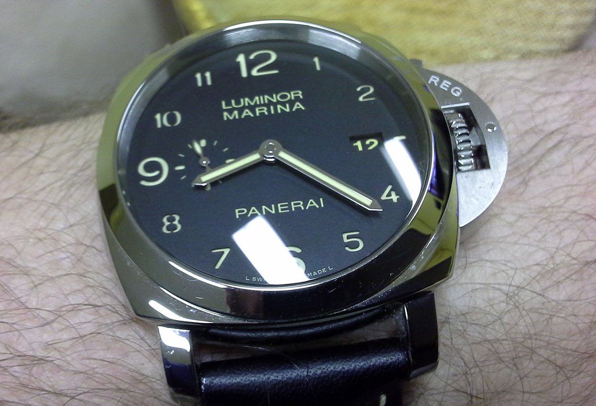 Buying your First Panerai watch - pam 359