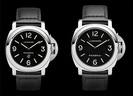 Panerai luminor PAM000 vs PAM112
