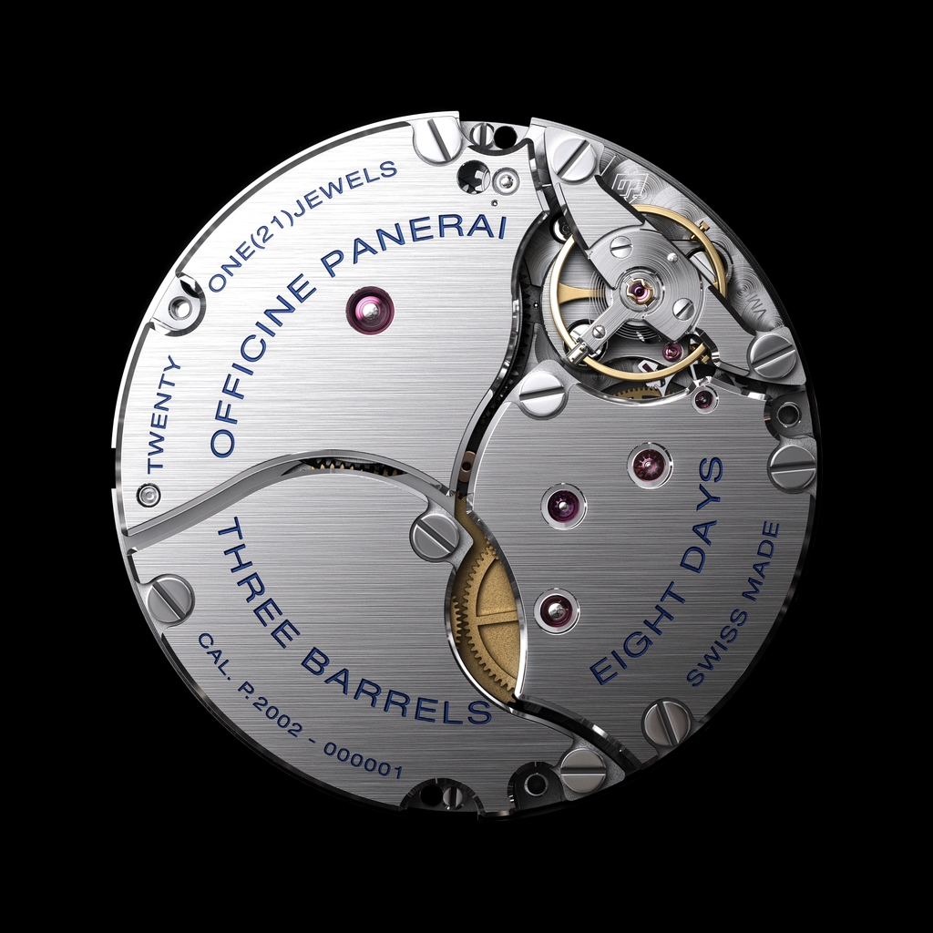 Panerai history P.2002 movement