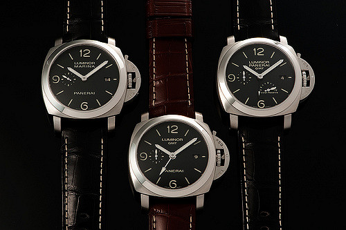 Panerai PAM320 review with PAM312 and PAM321