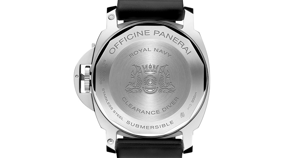 Panerai PAM664 review Caseback