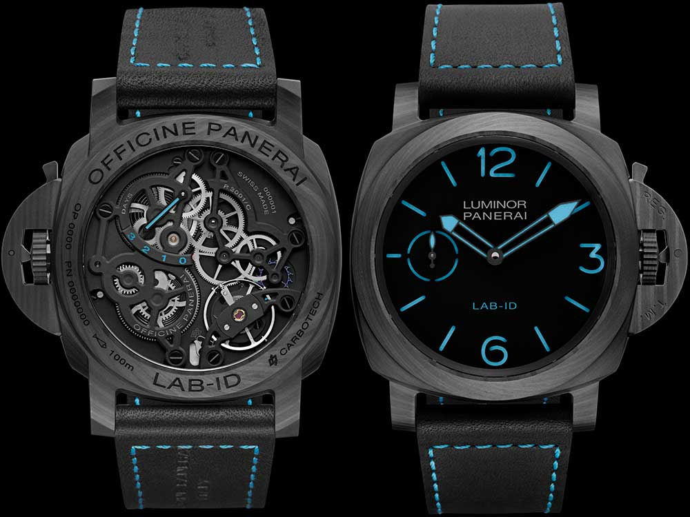 Panerai PAM700 front and back