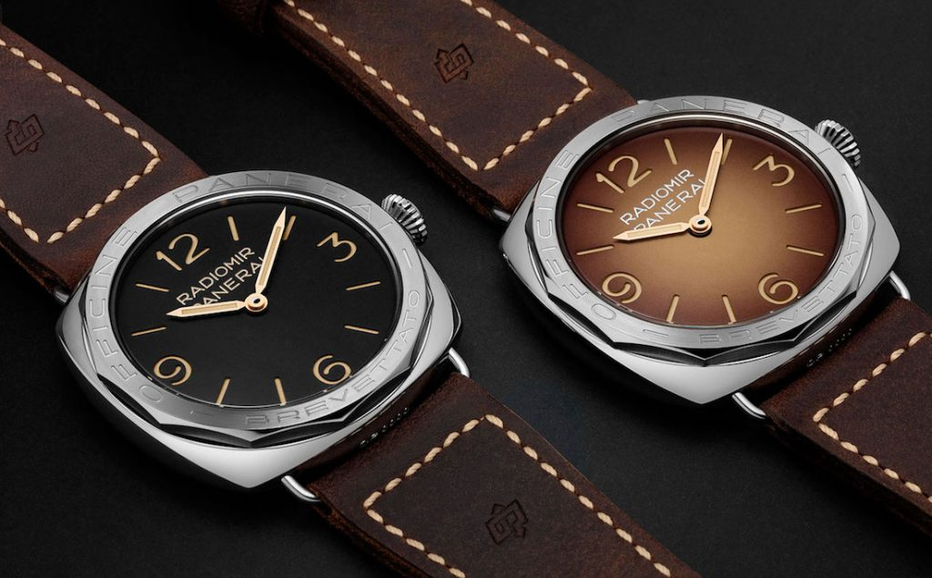 Panerai Radiomir PAM685-PAM687 3 Days Acciaio Brevettato side by side